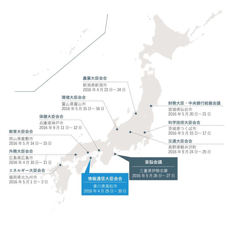 G7香川・高松情報通信大臣会合 開催時期・場所 開催概要G7香川・高松情報通信大臣会合の開催結果フォトギャラリーG7香川・高松情報通信大臣会合関連イベント